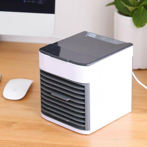 desktop cooler on office desk