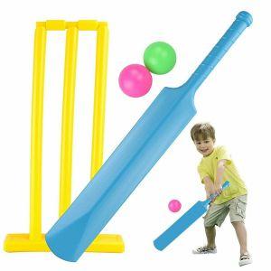boy playing cricket
