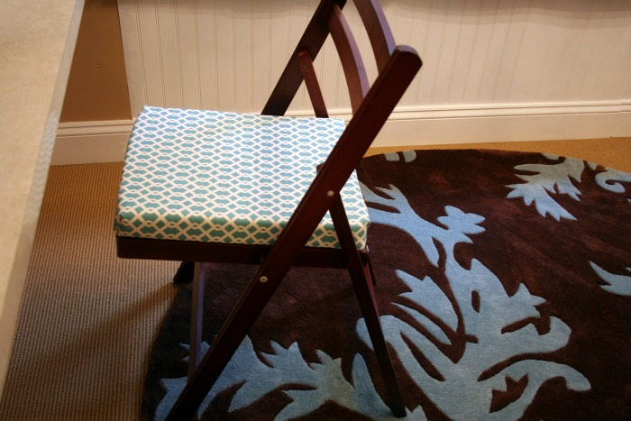 How to Make NoSew Window Seat Cushions craft room update