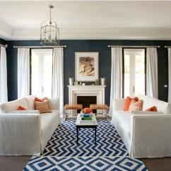 Sofa Throw Pillows Cheap Statistics Software Trend Alert: Navy & Orange