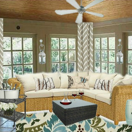 cheap way to decorate living room colour schemes for rooms with brown sofa reader's conundrum: how a sunroom - home ...
