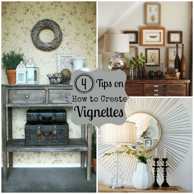 How To Create A Vignette Do It Yourself Decorating Home Stories