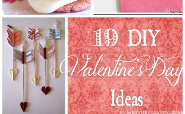 19 Easy Diy Valenine S Day Ideas