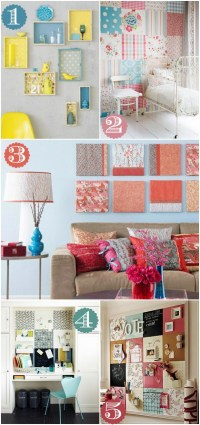 42 Ways to Decorate with Scrapbook Paper - Home Stories A to Z