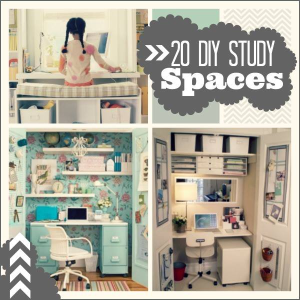 20 Do It Yourself Study Spaces Home Stories A To Z