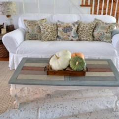 Living Room Without Coffee Table Ideas Modern Canvas How To Refinish And Stain A - Home Stories Z