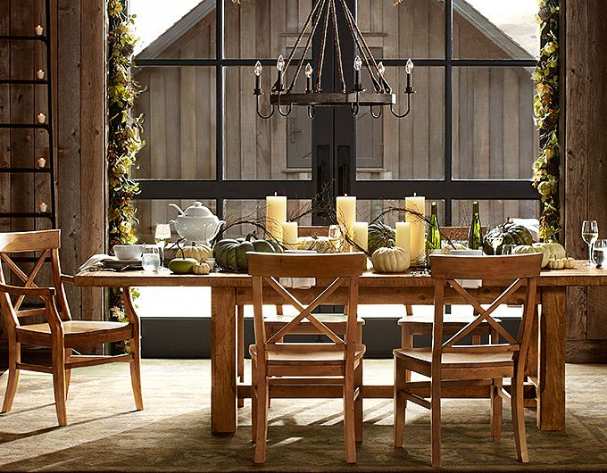 Pottery Barn Leather Chairs