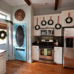 How To Make Kitchen Cabinet Doors Moulding Tips On Decorate Your For Christmas - Home ...