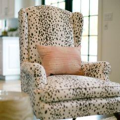 Wingback Chair Upholstery Ideas Studio Sleeper Trend Alert: Dalmatian Print Home Decor