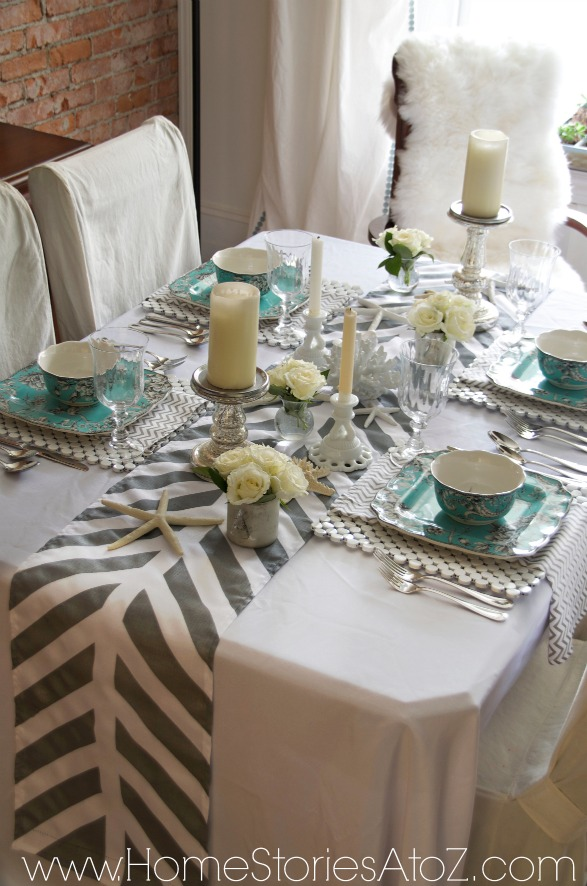 How to Make a Painted Table Runner
