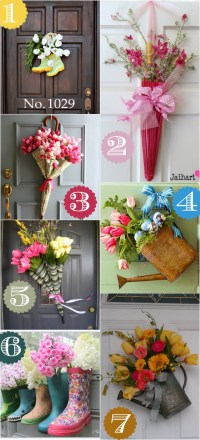 36 Creative Front Door Decor Ideas {not a wreath}