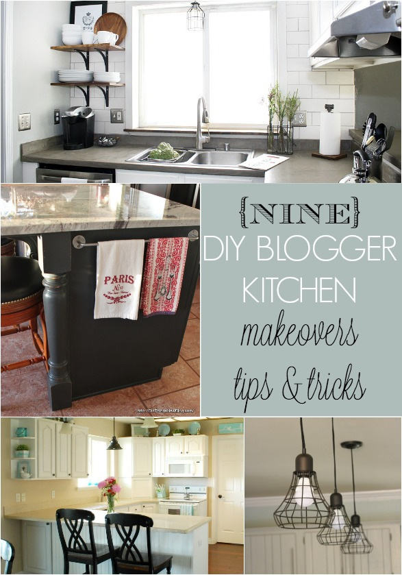 9 DIY Blogger Kitchen Makeovers  Home Stories A to Z