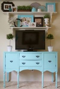 5 Tips for Decorating Around a Television - Home Stories A ...