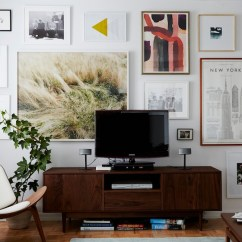 How To Arrange Living Room With Tv Above Fireplace Furniture Houston Texas 5 Tips For Decorating Around A Television - Home Stories ...