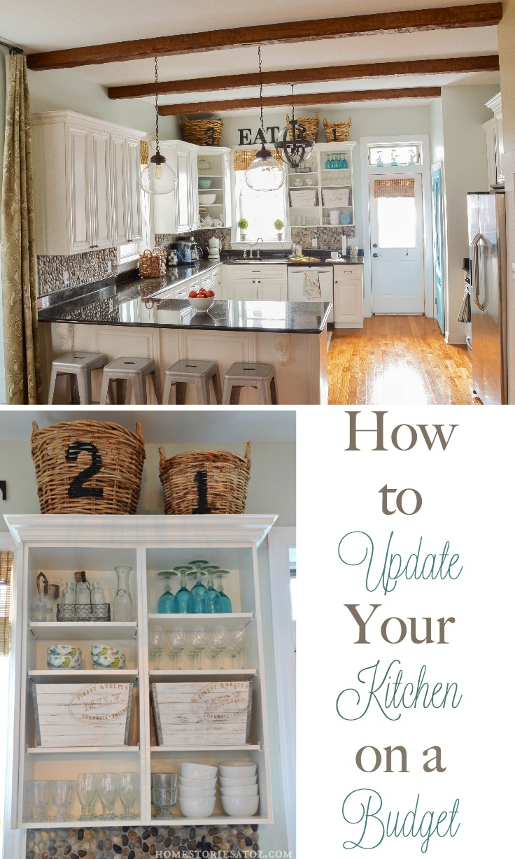 kitchen on a budget chair with arms how to update your