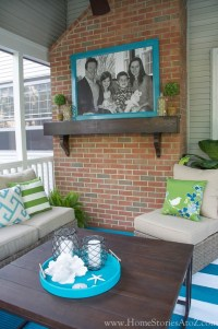Lowes Screen Porch & Deck Makeover Reveal