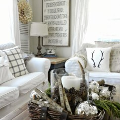 Ideas How To Decorate A Living Room Corner Fireplace Set Up 50 Winter Decorating Idea