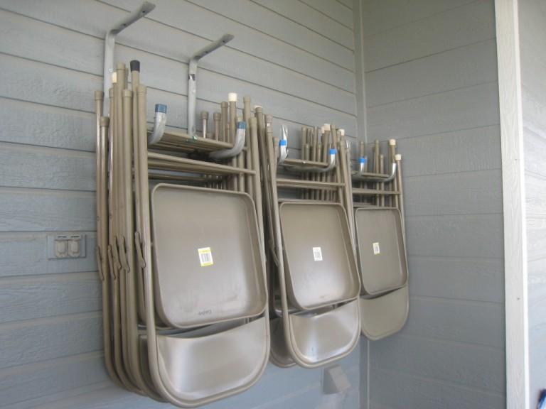 lawn folding chairs adirondack chair design history 16 brilliant diy garage organization ideas