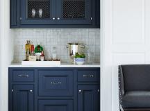 23 Gorgeous Blue Kitchen Cabinet Ideas