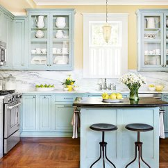 Kitchen Cabinet Color Storage Bins 23 Gorgeous Blue Ideas Robin S Egg Cabinets