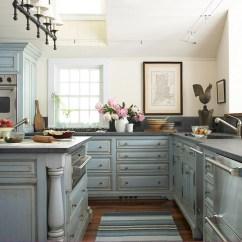 Glazed Kitchen Cabinets New Ideas 23 Gorgeous Blue Cabinet