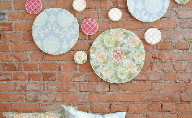 Diy Embroidery Hoop Wall Art