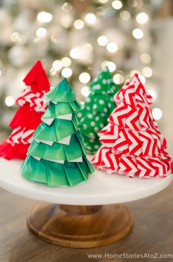 DIY Christmas Tree Craft Ideas
