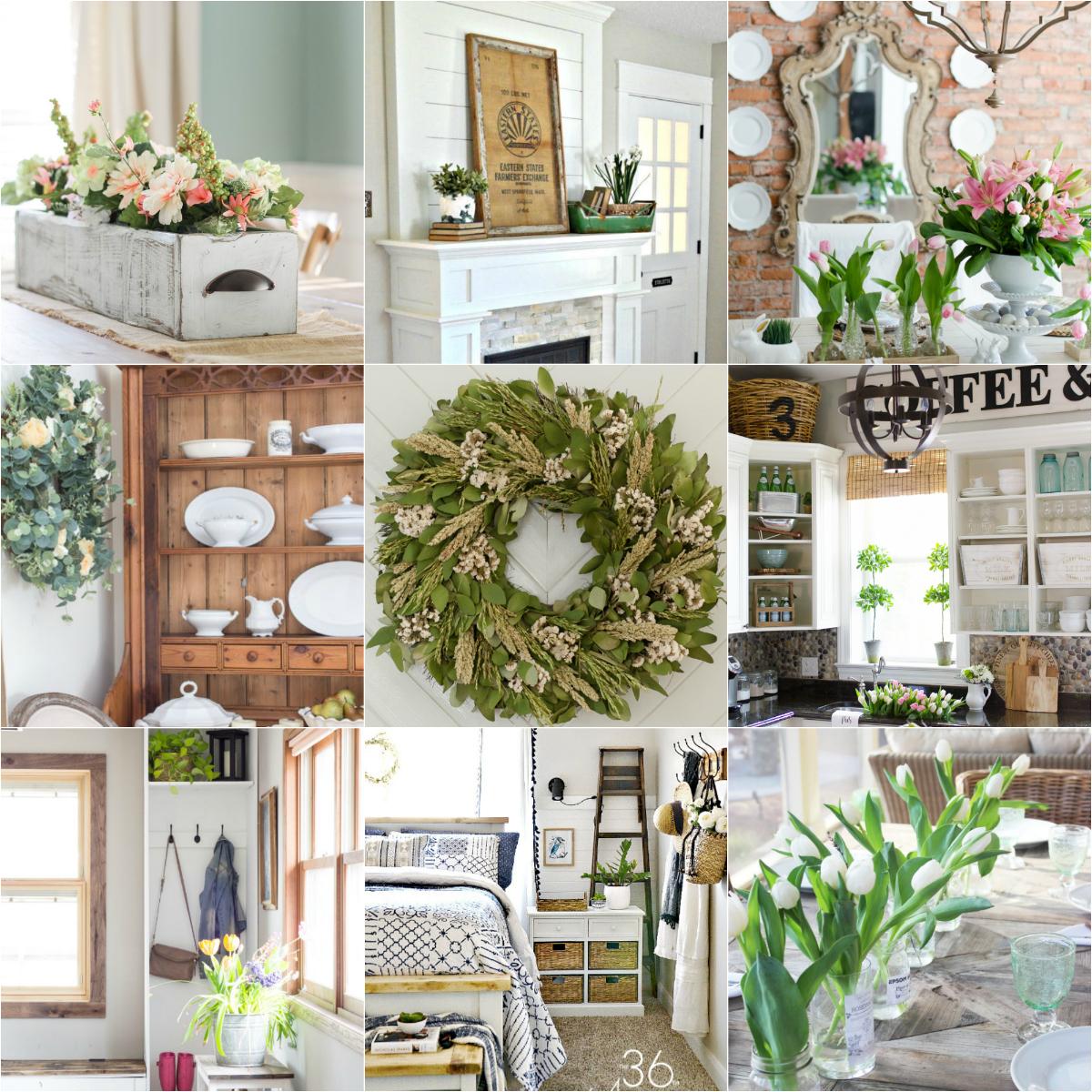 18 Spring Decor Ideas  Home Stories A to Z