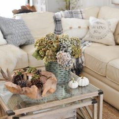 Decoration Ideas For Living Room Table Broyhill Chairs 35 Fall Decorating Family Decor By Clean And Scentsible
