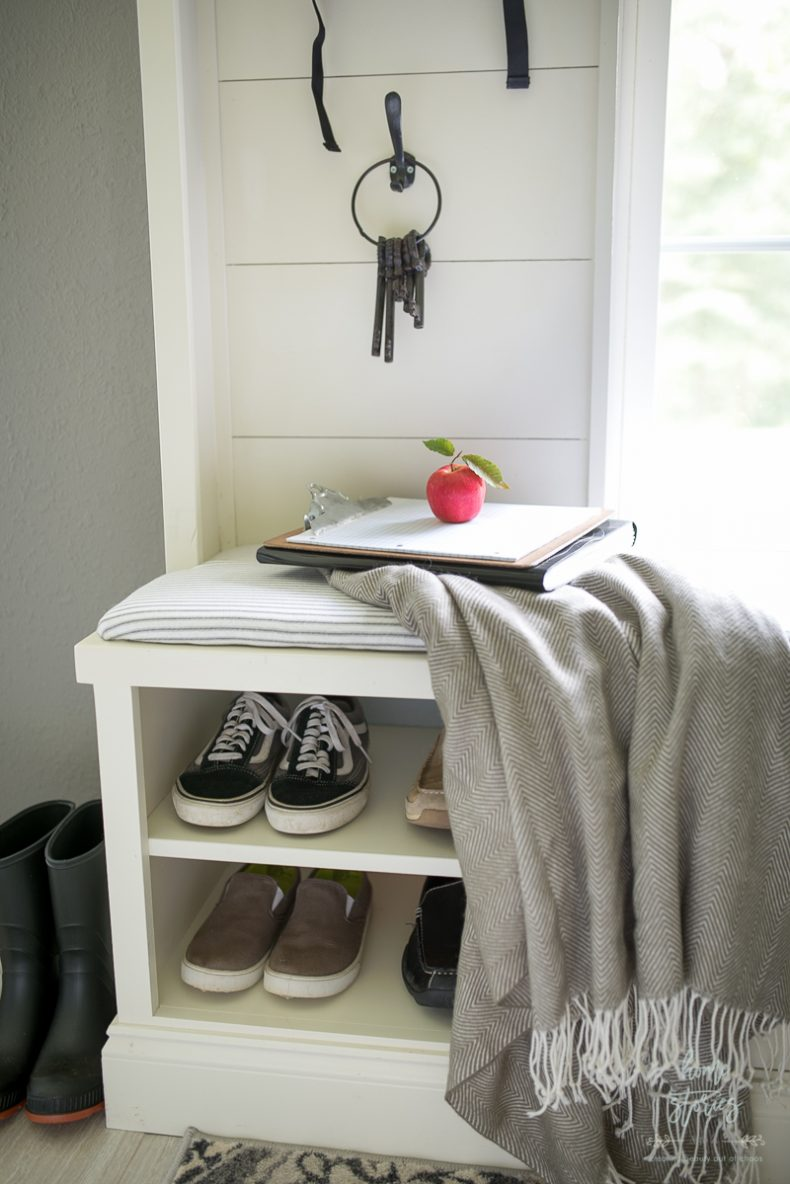 Mudroom Makeover From Messy To Magnificent