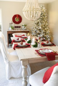 How to Set an Informal Table 12 Days of Christmas Table ...