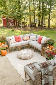 Affordable Fall Decor 6 Tips Southern Outdoor Patio
