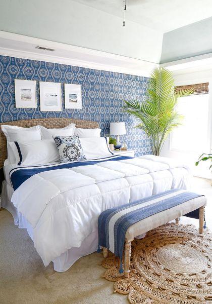 master bedroom decor BEAUTIFUL BLUE BEDROOM DECOR IDEAS