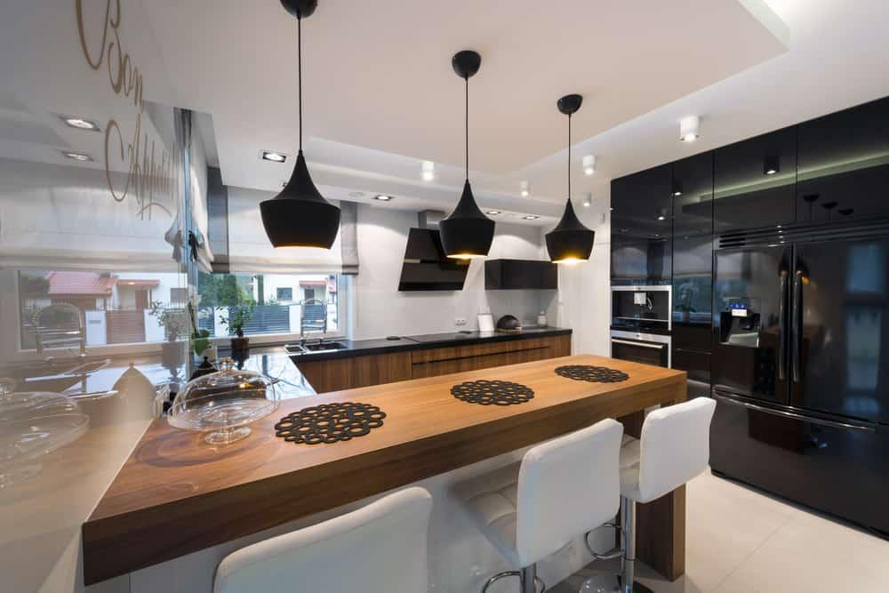black kitchen appliances savannah cart 53 fantastic kitchens with pictures