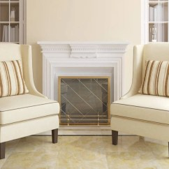 Cheap Accent Chair Lazy Boy Parts 10 Attractive Chairs Under 100 2019 Two Flanking Fireplace In Living Room