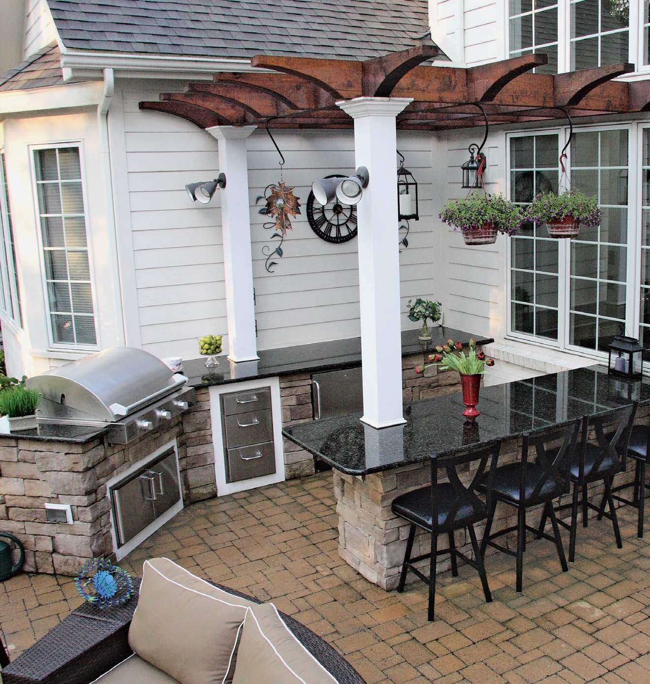 100 Outdoor Kitchen Design Ideas Photos  Features