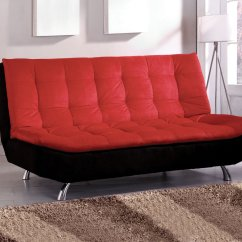 Dhp Allegra Pillow Top Futon Sofa Bed What To Put Behind A Narrow