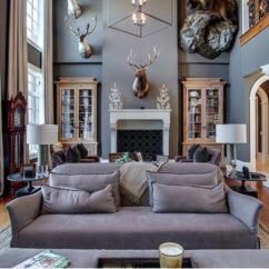 Elegant Living Rooms Designs Sectional Kelly Clarkson's Home In Tennessee That She's Selling For ...