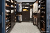 45 Walk-In Closets for Men (Dark and Luxurious)