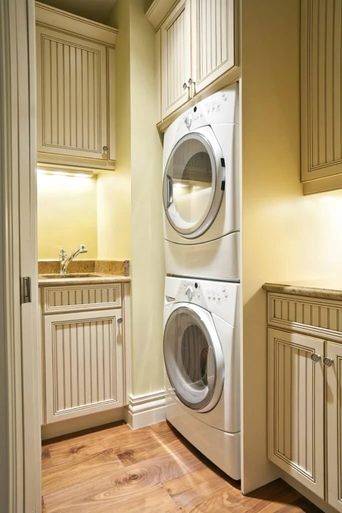 20 Laundry Rooms with Stackable Washer and Dryer Photo Ideas  Home Stratosphere