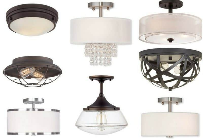 Type of ceiling lights for Type of light fixtures