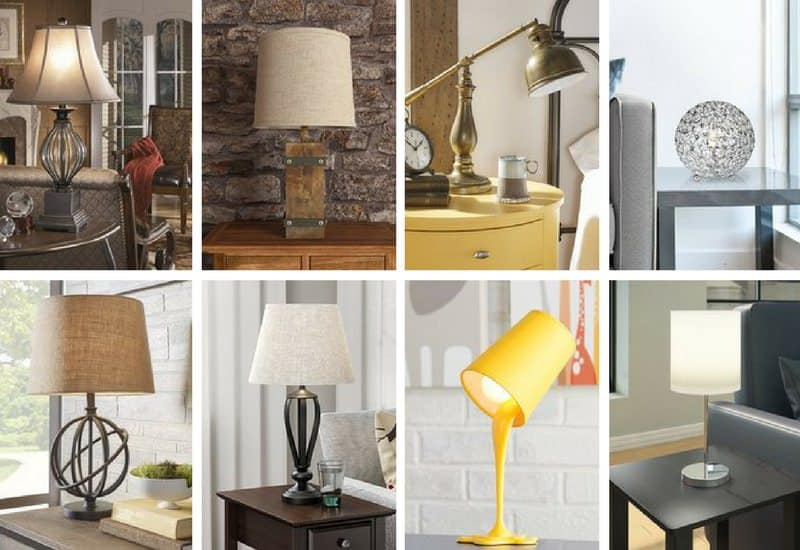 24 Different Types Of Table Lamps 2020 Buying Guide