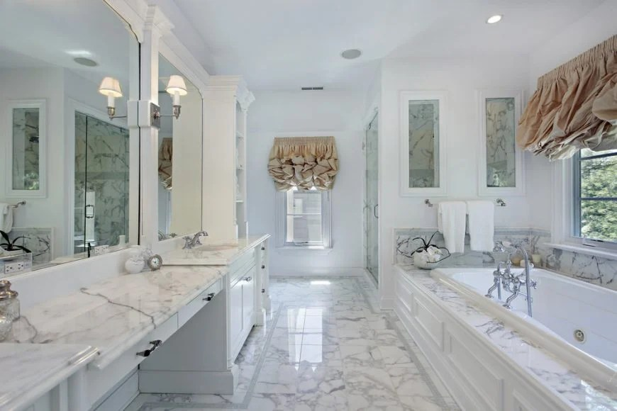 15 Most Popular Bathroom Vanity Tops Materials Styles And Cost Home Stratosphere
