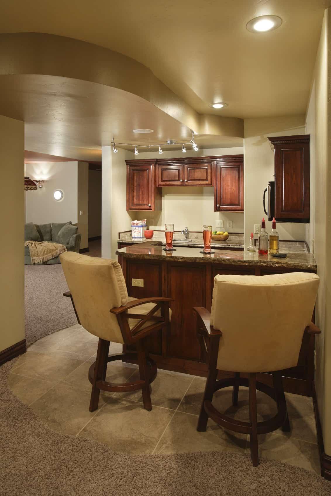 Wet Bar Ideas For Living Room