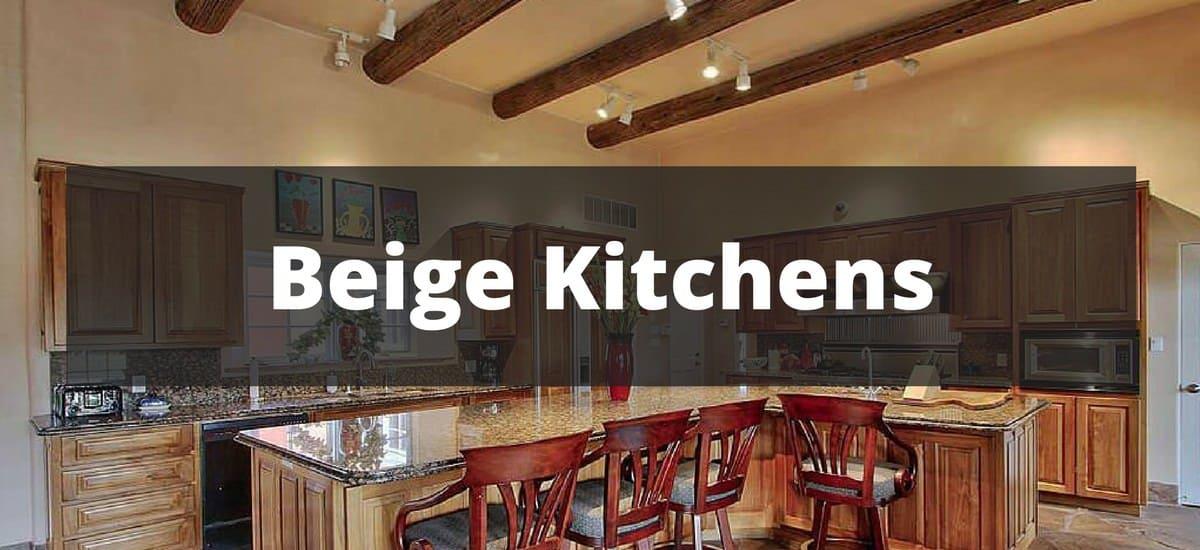 255 Beige Kitchen Ideas For 2018