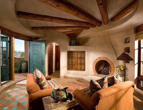 southwest living rooms room ottomans 35 southwestern ideas for 2019 hz room13 091817