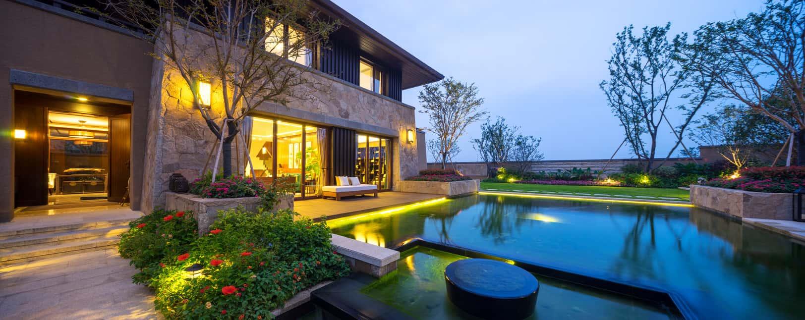 75 Brilliant Backyard Landscape Lighting Ideas 2020