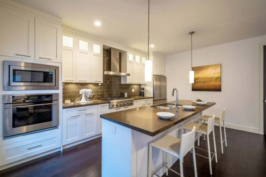 199 Single Wall Kitchen Layout Ideas For 2019