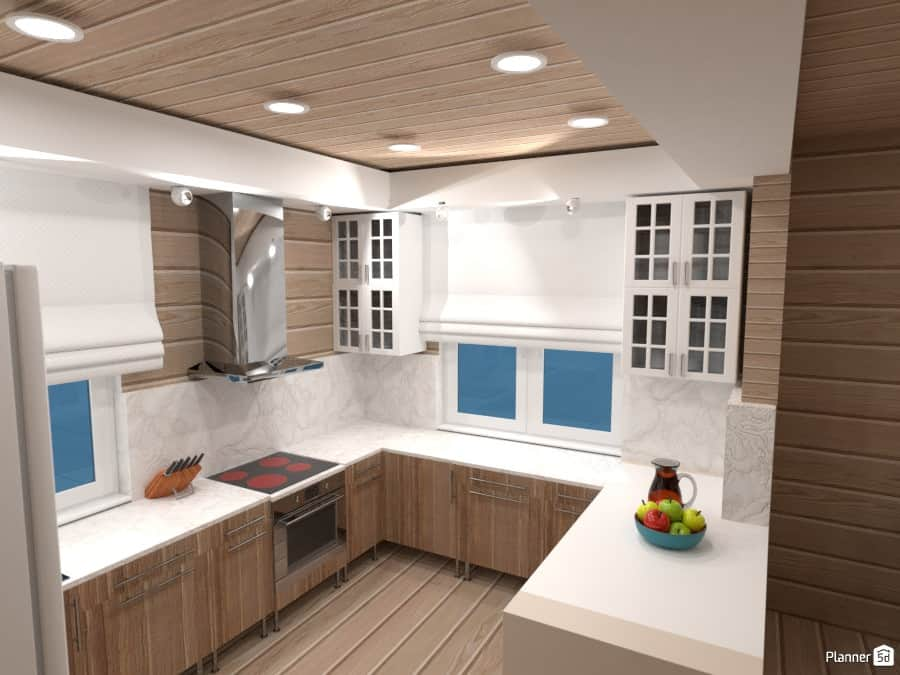 kitchen builder app retro appliances 17 best online design software options in 2019 free paid example of a designed by planner5d which is 3d