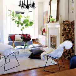 Shabby Chic Small Living Room Ideas Overhead Lighting 20 Cool Style For 2019 With White Walls Chandelier And A Big Mirror Above